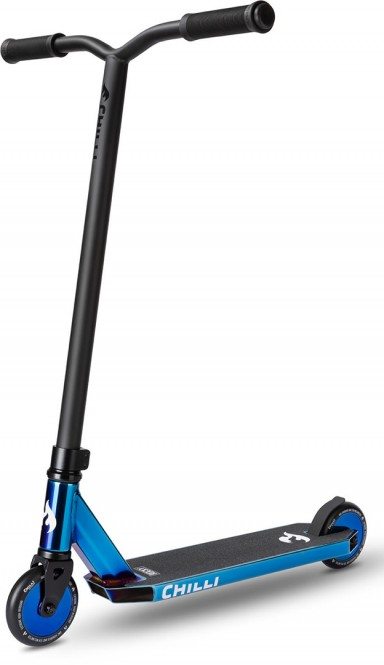 CHILLI PRO SCOOTER ROCKY Scooter Grind Limited DJ Edition blue neochrome diskwheels
