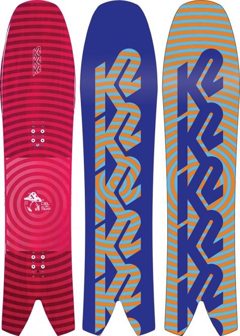 K2 COOL BEAN Snowboard 2021 - 138