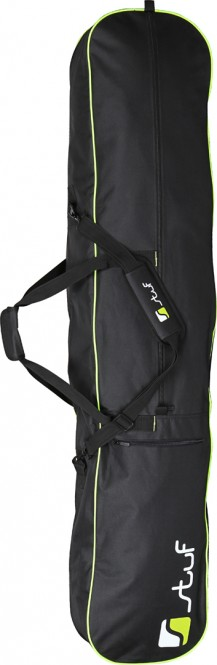 STUF BASIC Snowboardbag 2021 black/white/green