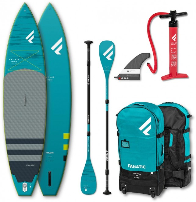 FANATIC RAY AIR PREMIUM 13,6 SUP 2020 inkl. CARBON 35 ADJUSTABLE 3-Piece...