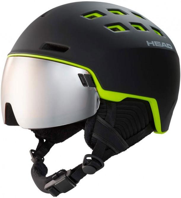 HEAD RADAR Helm 2021 black/lime - XL/XXL