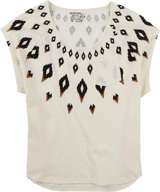 BURTON FAIRISLE T-Shirt 2016 vanilla - S