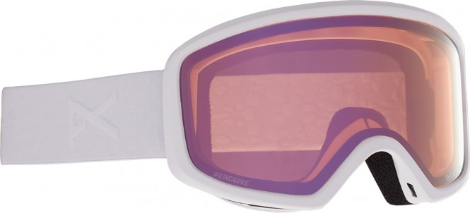 ANON DERINGER Schneebrille 2021 white/perceive cloudy pink