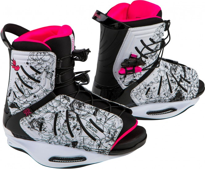 RONIX HALO Boots 2018 white/black/pink - 38,5-42,5