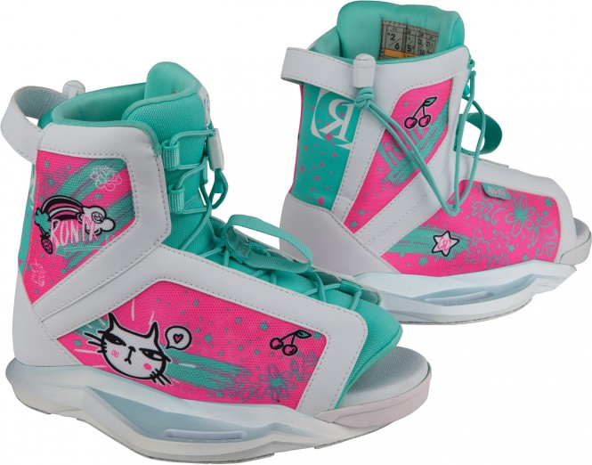 RONIX AUGUST GIRLS Boots 2019 white/turquoise/pink - 33-38