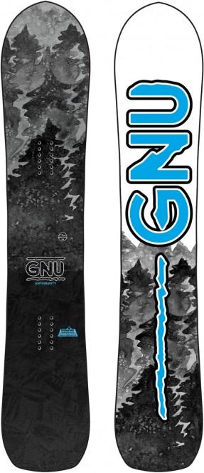 GNU ANTIGRAVITY WIDE Snowboard 2021 - 162W