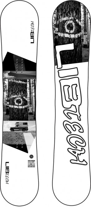 LIB TECH SKATE BANANA Snowboard 2021 sweeten - 156