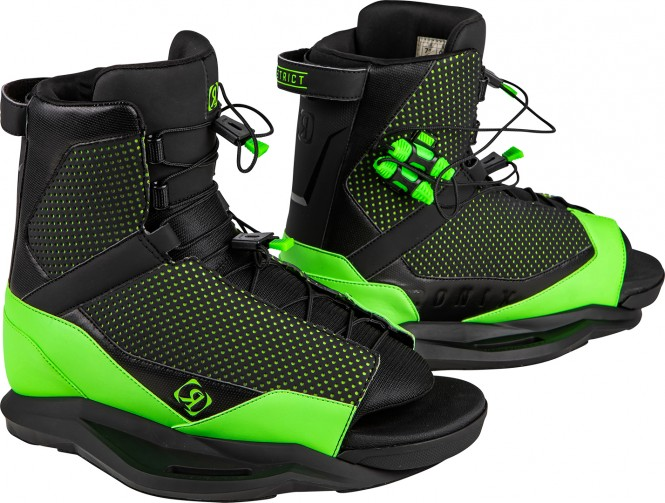 RONIX DISTRICT Boots 2021 black/green - 44-48,5