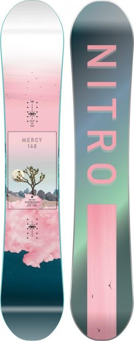 NITRO MERCY Snowboard 2021 - 146