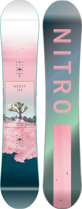 NITRO MERCY Snowboard 2021 - 149