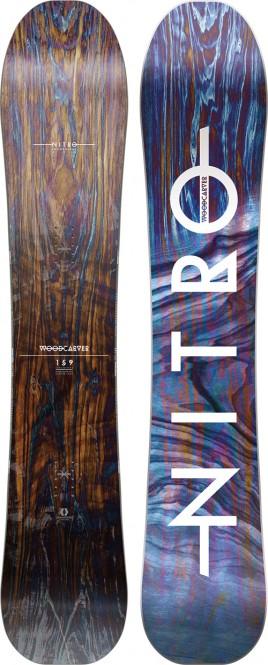 NITRO WOODCARVER Snowboard 2021 - 159