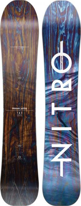NITRO WOODCARVER Snowboard 2021 - 163
