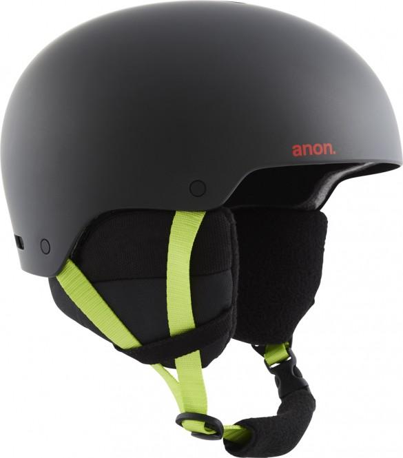 Artikel klicken und genauer betrachten! - Der Anon Raider 3 Helm verfügt über eine strapazierfähige Hardshell-Außenseite und ein schnörkelloses Design mit integrierter Belüftung für Temperaturregulierung und eine beschlagfreie Brille. Die automatisch einstellbare Passform bietet jedes Mal eine perfekte Passform. | im Online Shop kaufen