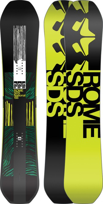 ROME NATIONAL WIDE Snowboard 2021 - 162W