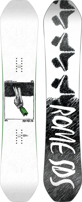 ROME PARTY MOD Snowboard 2021 - 156