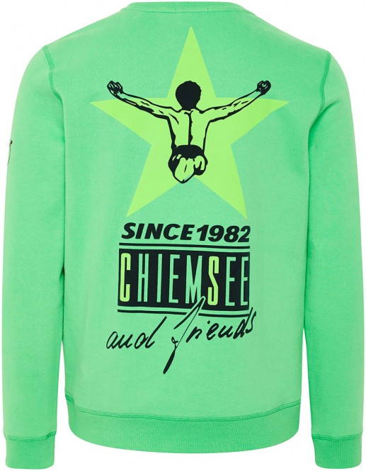 CHIEMSEE ZAYN NEW Sweater 2020 irish green - S