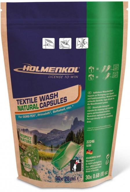 HOLMENKOL NATURAL TEXTILE WASH Waschmittelkapseln