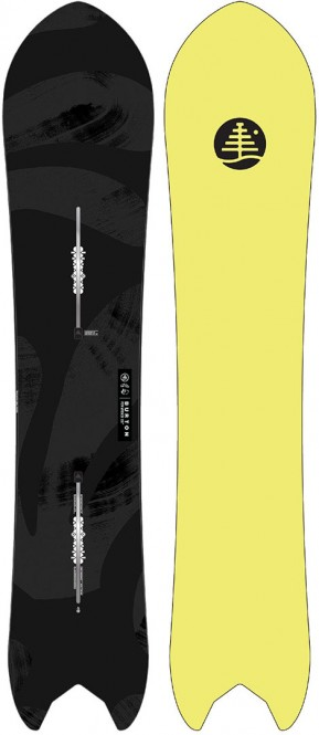 BURTON FT POW WRENCH Snowboard 2021 - 158