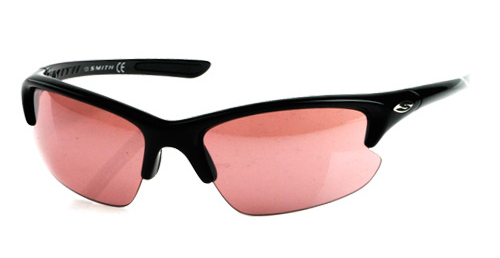 SMITH THEORY MAX Sonnenbrille black/pink golf tint/RC36/Y68