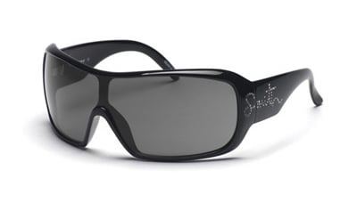 SMITH DOMINO Sonnenbrille black with strass/grey