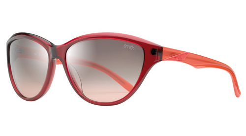 SMITH CYPRESS Sonnenbrille transpared red lobster/rose gradient