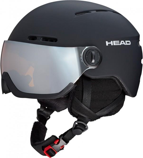 HEAD KNIGHT Helm 2021 black - XS/S