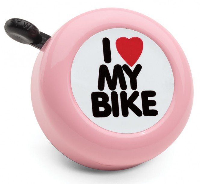 ELECTRA BICYCLE CO. I LOVE MY BIKE Fahrradklingel pink