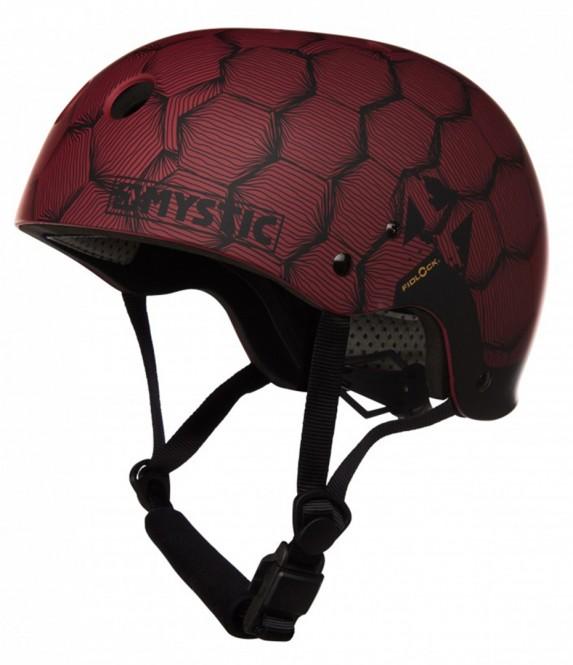 MYSTIC MK8 X Helm 2019 dark red - M