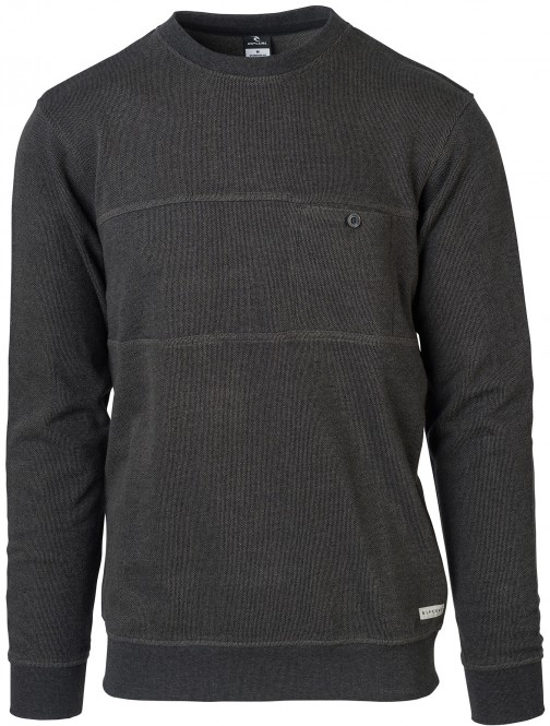 RIP CURL AFTER SESSION Sweater 2018 black - S