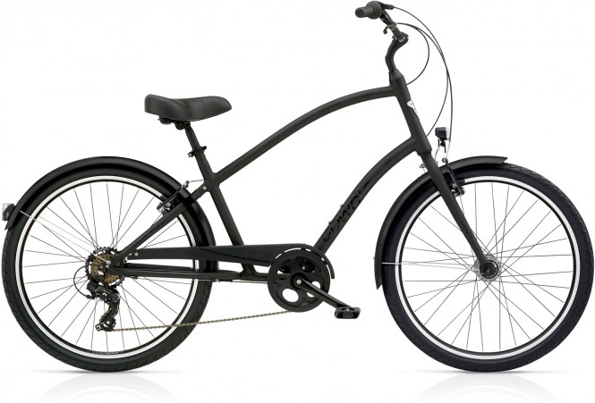 ELECTRA BICYCLE CO. TOWNIE ORIGINAL 7D EQ TALL Fahrrad matte black