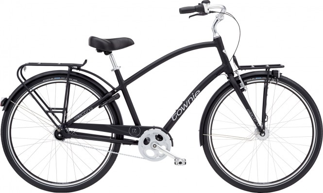 ELECTRA BICYCLE CO. TOWNIE COMMUTE 7I EQ Fahrrad black satin