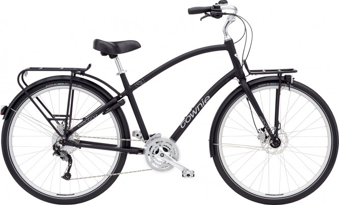 ELECTRA BICYCLE CO. TOWNIE COMMUTE 27D EQ Fahrrad black satin