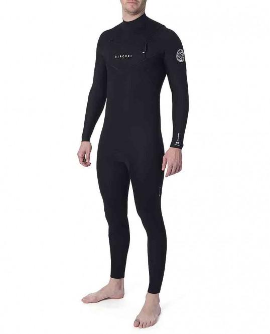 RIP CURL FLASHBOMB 4/3 ZIP FREE Full Suit 2021 black - XL