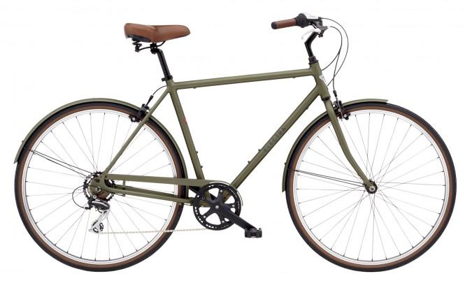 ELECTRA BICYCLE CO. LOFT 7D M Fahrrad matte khaki