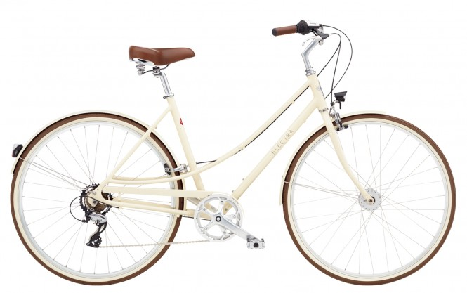 ELECTRA BICYCLE CO. LOFT 7D EQ LADIES M Fahrrad cream