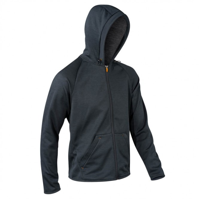 KOMPERDELL HOODY Shirt 2020 black/orange - L