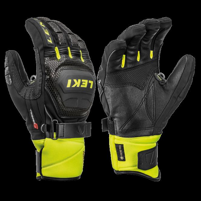 LEKI WORLDCUP RACE COACH FLEX S GTX Handschuh 2020 black/ice lemon - 10,0