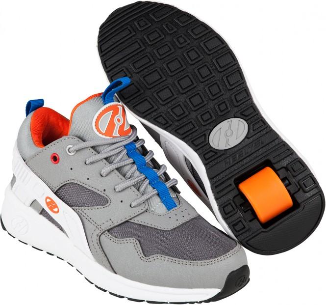 HEELYS FORCE Schuh grey/white/orange - 31