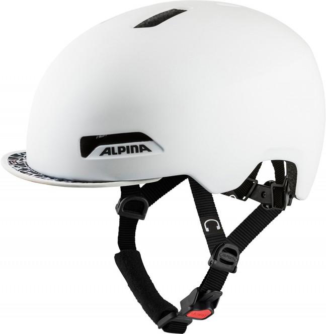 ALPINA BROOKLYN Helm 2021 pearl white matt - 52-57
