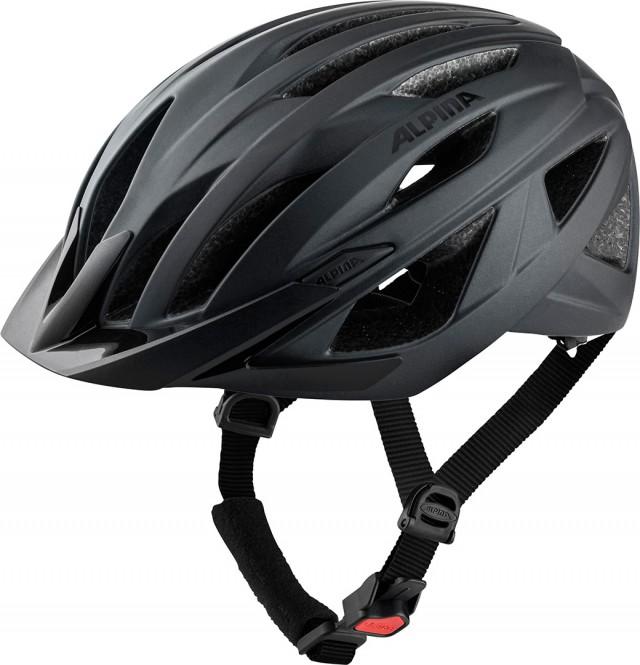 Artikel klicken und genauer betrachten! - Sportlich, dynamisch und gleichzeitig reduziert, clean. Der ALPINA PARANA ist ein Tourenrad-Helm für sportliche Radler mit hohen Ansprüchen an den eigenen Stil und die eigene Sicherheit. Dank Hi-EPS und der Inmold-Bauweise ist der ALPINA PARANA sehr leicht, gleichzeitig schützt er den Kopf im Falle eines Aufpralls. Die bewährte ALPINA-Passform sorgt dafür, dass der Fahrradhelm optimal sitzt, nicht rutscht, nichts zwickt.   im Online Shop kaufen