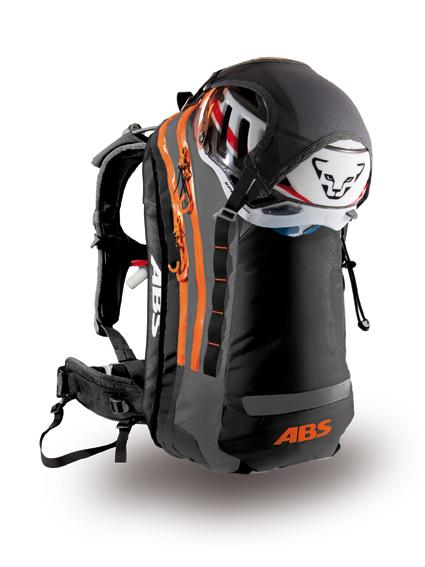 ABS VARIO/POWDER Zip-On Helmhalterung