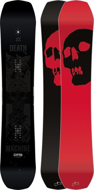 CAPITA BLACK SNOWBOARD OF DEATH Snowboard 2021 - 162