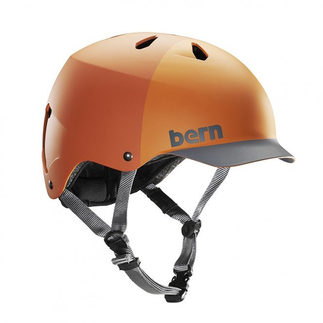 BERN WATTS H2O Helm 2019 orange hatstyle - S
