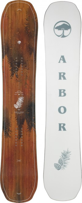 ARBOR SWOON CAMBER Snowboard 2021 - 151