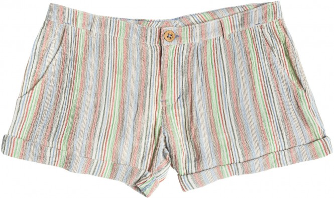 ROXY DISTANT SUN Walkshort 2015 warm white surf stripe - 26