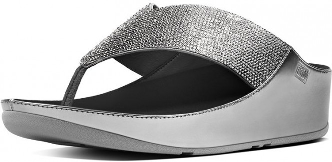 FITFLOP CRYSTALL 2018 pewter - 42