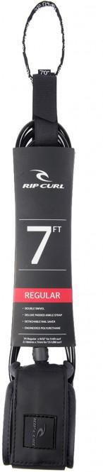 RIP CURL 7'0 REG LEASH SURF GRIP Leash 2021 black