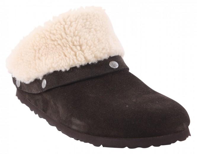 BIRKENSTOCK KAPRUN TEDDY CUFF SLIM Sandale 2019 teddy mocca - 38
