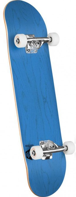 MINI-LOGO CHEVRON DETONATOR Skateboard dyed blue – 8.25×31.95