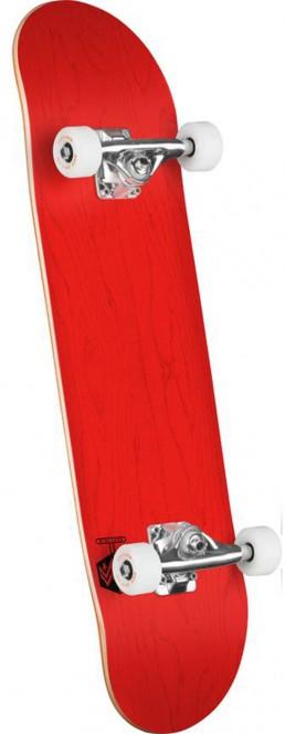 MINI-LOGO CHEVRON DETONATOR Skateboard dyed red – 8.0×41.45